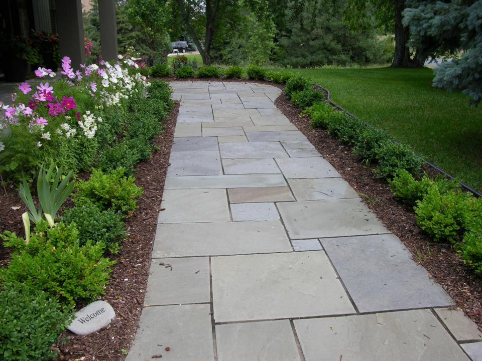 Walks And Entryways Yardmasters Landscaping Company